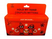 Hold My Hand Couples Mittens