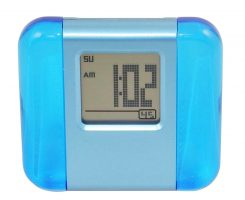 Acrylic LCD Digital Alarm Clock