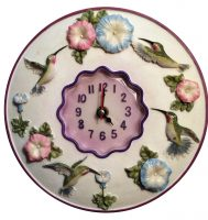 Hummingbird Wall Clock