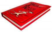 Red Dust Jacket Journal Book