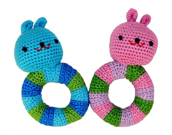 Bunny Rattle – Pink or Blue.