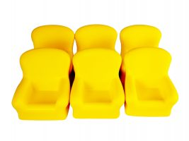 Big Yellow Chair Shaped Stress Relief Toy